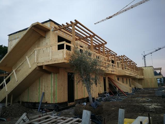 residence legno lago garda