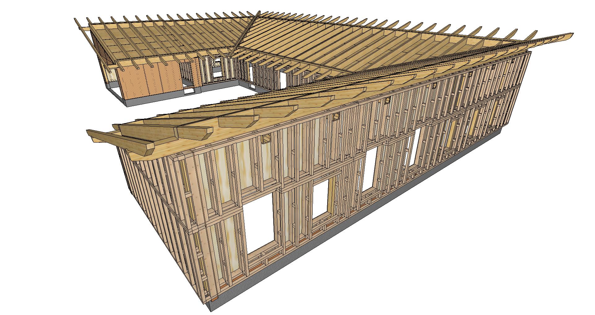 progettazIone edifici in paglia