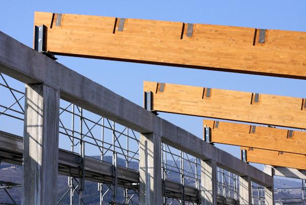 tetto legno lamellare valpolicella