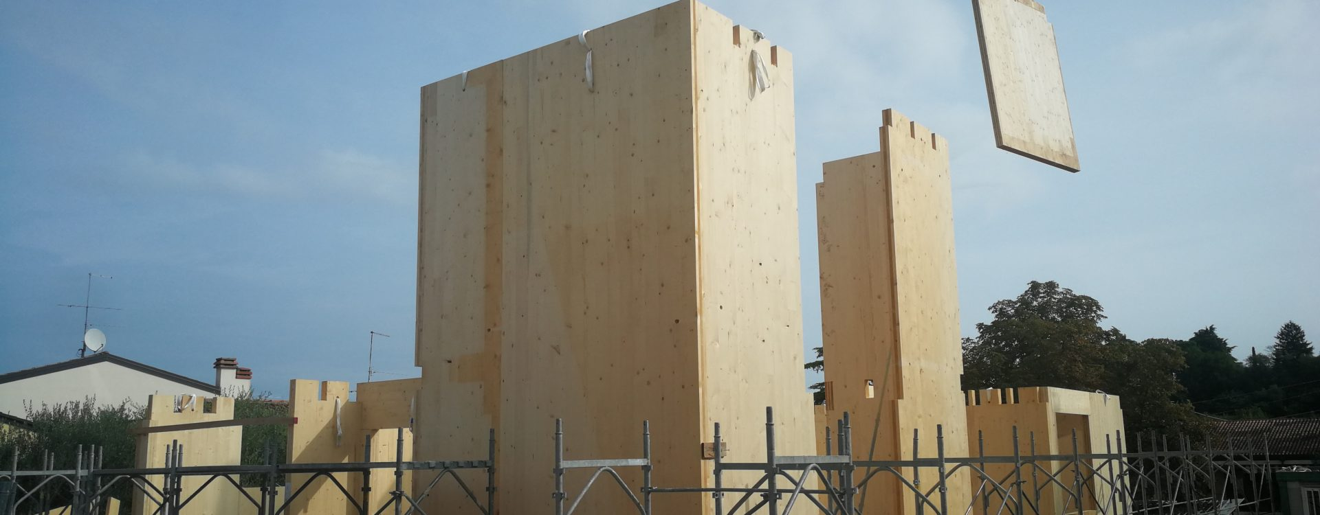 casa in legno xlam verona
