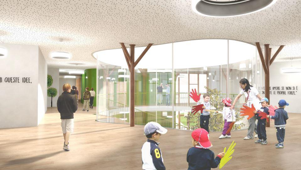 scuola in legno xlam